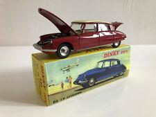1/43 Dinky Toys Atlas Citroên Ds 19 Bordeaux 530 Collection Neuf