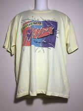 TRUE VINTAGE 1987 WHITNEY HOUSTON MOMENT OF TRUTH WORLD TOUR T SHIRT SIZE XL