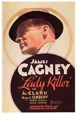 LADY KILLER Movie POSTER 27x40 James Cagney Mae Clarke Leslie Fenton Margaret