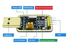 Ch340g-USB to TTL adaptateur avec 4x Dupont Câble