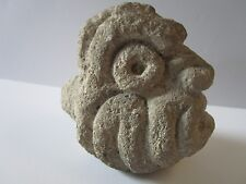 ANTIQUE SOUTH AMERICAN RELIC STATUE SCULPTURE STONE CARVING PRIMITIVE ICONIC OLD