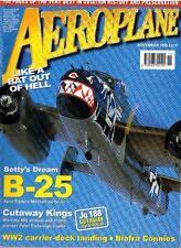 AEROPLANE NOV 99: Ju 188 CUTAWAY/ CARRIER LANDING/ ENDSLEIGH CASTLE/ TWIN PA-18