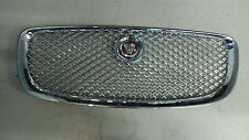 Genuine Jaguar XJ X351 Front Chrome Grille with  Red & Chrome Badge  2010 onward