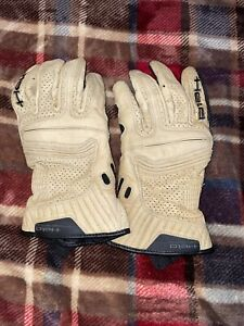 Held Rodney Motorcycle Leather Gloves Tan! Used Once Size Large!