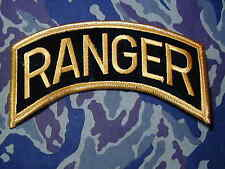 X-Large RANGER Instructor Tab  color patch airborne scroll for jacket wear
