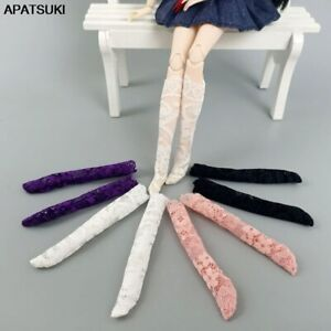 """Lace Middle Tube Socks for 11.5"""" Doll Accessories Sock for Blythe Licca Doll Toy"""