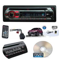 AUTORADIO FM STEREO PER AUTO SLOT USB CD AUX MP3,WMA SD FRONTALINO RIMOVIBILE
