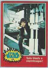 1977 Topps Star Wars Series 2 Red #123 Solo Blasts A Stormtrooper! > Han > Good