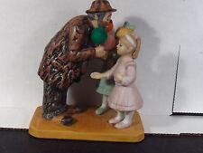 Dave Grossman Emmett Kelly 1994 Hobo Clown Circus Collection 2 Girls Ltd Ed