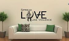 Wall decal vinyl sticker Angels and Airwaves AVA LOVE Spread hope blink 182 +44