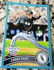 CHRIS SALE 2011 Topps BLUE 0025/2011 SP Rookie Card RC Logo HOT Boston Red Sox $