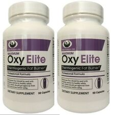 2 PACK  DEAL~ Max Oxy Elite Pro Thermo Fat Burner Diet Pill - Swan Products USA®