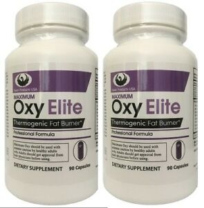 2 PACK  DEAL~ Max OxyElite Pro Thermo Fat Burner Diet Pill - Swan Products USA®