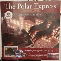 The Polar Express Holiday Gift Set By Chris Van Allsburg Book DVD Set NEW Sealed