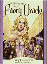 NEW Wild Wisdom of the Faery Oracle by Lucy Cavendish