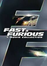 Fast and Furious 1 2 3 4 5 6 7 All Movie Collection NEW Sealed DVD + Bonus Disc
