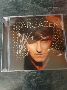 MARTI PELLOW * STARGAZER * SIGNED Cd 💿  new and not sealed