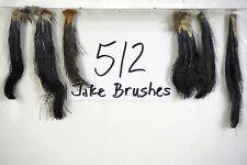6 JAKE BRUSHES, EASTERN WILD TURKEY BEARDS-TAXIDERMY lot512