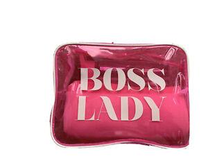 Boss Lady Bag, Towel, Bottle pink