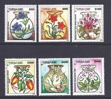 ZIMBABWE, 2003 ENDANGERED MEDICINAL HERBS, SG 1117-22, MNH SET  6