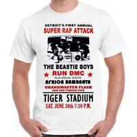 Detroit Super Rap Attack Beastie Boys Poster Retro T Shirt 3