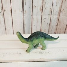 The Carnegie Collection Green Apatosaurus Baby Dinosaur 1988 vintage