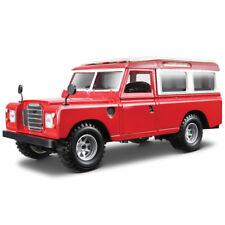 BBURAGO Land Rover Jeep Série II 3 109 Lwb Utilitaire Rouge Diecast Modèle échelle 1:24