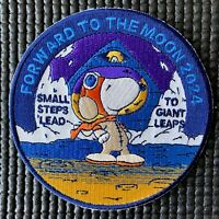 """NASA FORWARD TO THE MOON! 2024 SPACE CAMPAIGN PATCH - ARTEMIS PROGRAM - 3.5"""""""