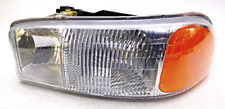 OEM Sierra 1500 2500 3500 Yukon XL Left Driver Headlight Head Lamp Lens Crack