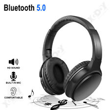 Bluetooth Wireless Headphones Over Ear Foldable Stereo Noise Cancelling Headset