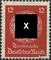 Deutsches Reich D138a postfrisch 1934 Dienstmarken