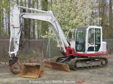 2005 Takeuchi TB175 Midi Excavator A C Cab Hydraulic Thumb Aux Hyd Blade