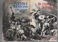 John Sanchez Flexible Weapons Slash & Thrust Martial Arts Self Defense 2 PB Lot