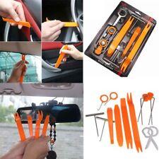 12pcs Set Auto Car Radio Door Clip Panel Cleaning Tools Kit Trim Pry Repair Tool