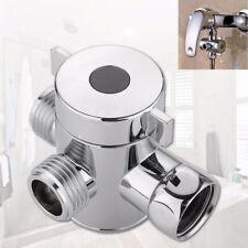 Universal 3 Ways T-adapter Valve For Toilet Bidet Shower Head Diverter Valve