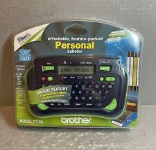 New Listingbrother P Touch Pt 80 Electronic Personal Labeling System Brand New Sealed