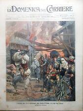 La Domenica del Corriere 17 Settembre 1905 Roosevelt Adrianopoli De Amicis Cuore