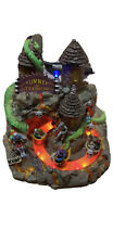 Lemax Spooky Town Tunnel Of Terror Animated Halloween House Retired