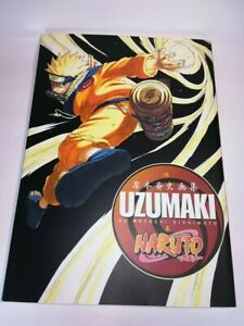 NARUTO UZUMAKI Illustration book Masashi Kishimoto Used From Japan