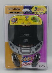 Vintage Koss portable CD Player New SEALED Walkman CDP617 w/ Headphones & AC