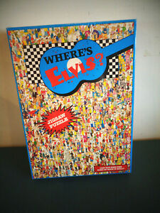 VINTAGE 1993 WHERE'S ELVIS ? 513 PIECE JIGSAW PUZZLE NEW SEALED JOHN HOLLADAY