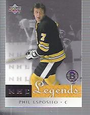 2001-02 Upper Deck Legends Hockey #1-100 - Your Choice - *GOTBASEBALLCARDS