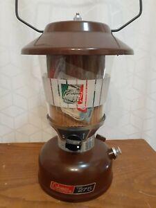 Vintage UNFIRED COLEMAN Model 275A Lantern 2/80 Brown Turd February 1980
