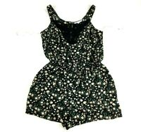 DR2 Womens Black Pink Floral Sleeveless Summer Dress Size Small