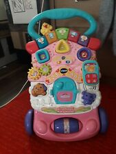 VTech First Steps Baby Walker Suitable From 6 to 30 Months Detachable Pink
