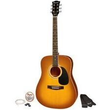 """41"""" Full Size Acoustic Guitar Kit Honey Burst Maestro By Gibson Innovations New"""