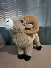 "Wild Republic Big Horn Ram Sheep Plush Brown Stuffed Animal 8"" Realistic"