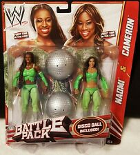 WWE Naomi & Cameron Battle Pack Series 24 Funkadactyls First Time In The Line