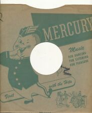 78 RPM Company logo sleeves-POST-WAR- MERCURY (Green)