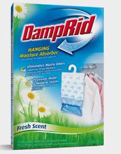 DampRid HANGING MOISTURE ODOR ABSORBER Dehumidifier Bag 14 oz Fresh Scent FG80